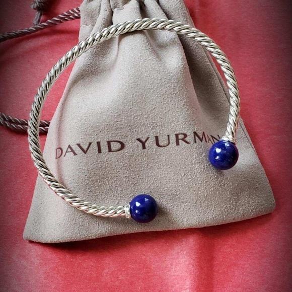 David Yurman Jewelry - DY Sterling Silver Bracelet   3 mm Cable